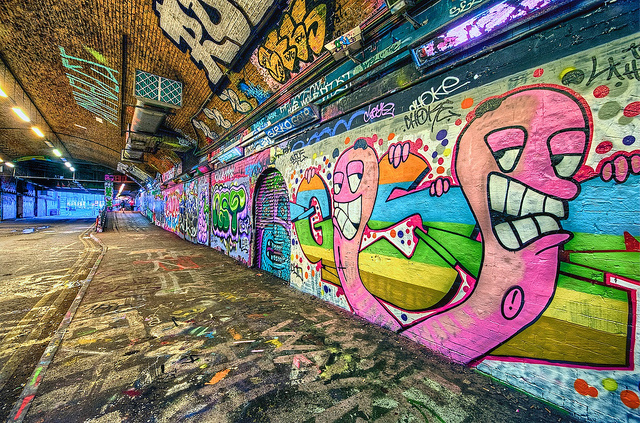 Leak Street Graffiti Tunnel