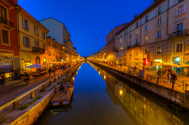 Navigli - Jeff Krause (Flickr / Licencia Creative Commons)